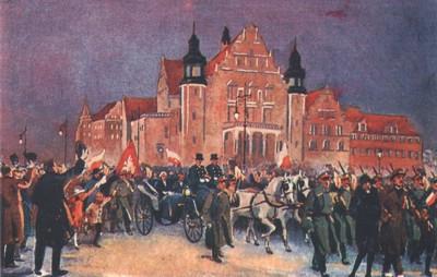 Przyjazd Ignacego Paderewskiego