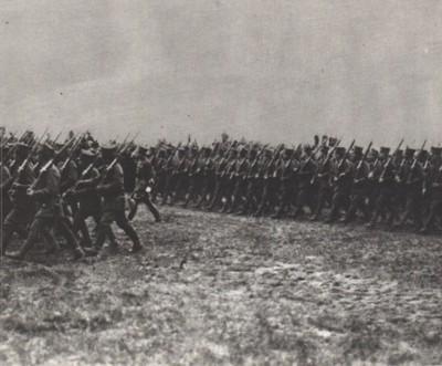 Parada wojsk wielkopolskich w dniu 3 maja 1919 w Poznaniu na Ławicy