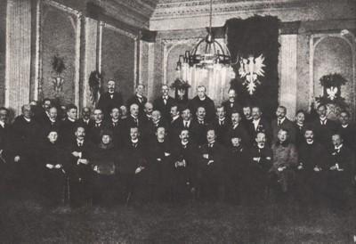 Grupa działaczy Naczelnej Rady Ludowej